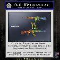 M16 Vs Ak47 Machine Gun Control 2nd Amendment Decal Sticker Glitter Sparkle 120x120