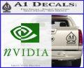 Nvidia Full Decal Sticker Green Vinyl Logo 120x97