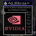 Nvidia Full Decal Sticker Pink Emblem 120x120