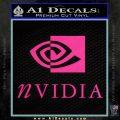 Nvidia Full Decal Sticker Pink Hot Vinyl 120x120