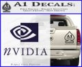 Nvidia Full Decal Sticker PurpleEmblem Logo 120x97