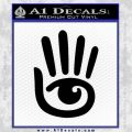 Second Life Icon Decal Sticker Black Vinyl 120x120