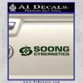 Soong Cybernetics Star Trek Decal Sticker Dark Green Vinyl 120x120