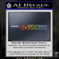Soong Cybernetics Star Trek Decal Sticker Spectrum Vinyl 120x120
