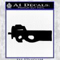 Stargate SG1 FS90 Gun Decal Sticker Black Vinyl 120x120