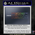 Stay Back 100 Meters Military Decal Sticker Spectrum Vinyl 120x120