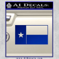 Texas State Flag Decal Sticker Blue Vinyl 120x120