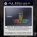 Think Twice Because I Wont D2 Decal Sticker Glitter Sparkle 120x120