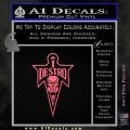 Cobra Destro Gi Joe D1 Decal Sticker Pink Emblem 120x120