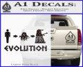 Doctor Who Dalek Evolution Decal Sticker Carbon FIber Black Vinyl 120x97