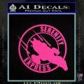 Firefly Serenity Express Futurama D1 Decal Sticker Pink Hot Vinyl 120x120