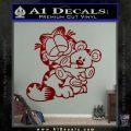Garfield w Pookie Decal Sticker DRD Vinyl 120x120