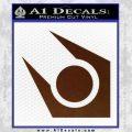 Half Life Combine Decal Sticker BROWN Vinyl 120x120