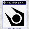 Half Life Combine Decal Sticker Black Vinyl 120x120