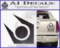 Half Life Combine Decal Sticker Carbon FIber Black Vinyl 120x97