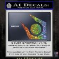 Half Life Combine Decal Sticker Glitter Sparkle 120x120
