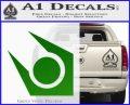 Half Life Combine Decal Sticker Green Vinyl Logo 120x97
