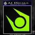 Half Life Combine Decal Sticker Lime Green Vinyl 120x120