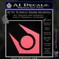 Half Life Combine Decal Sticker Pink Emblem 120x120