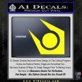 Half Life Combine Decal Sticker Yellow Laptop 120x120