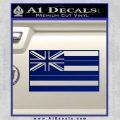 Hawaii State Flag Decal Sticker Blue Vinyl 120x120