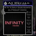 Infinity Firearms Decal Sticker Pink Emblem 120x120