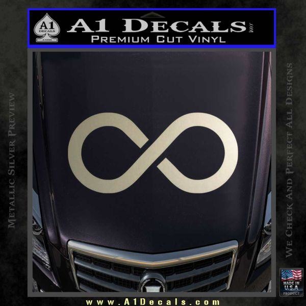 Infinity Symbol Decal Sticker 187 A1 Decals