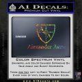 Alexander Arms Full Decal Sticker Sparkle Glitter Vinyl 120x120