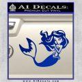 Ariel Decal Sticker Cute Mermaid Blue Vinyl Vinyl 120x120