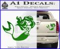 Ariel Decal Sticker Cute Mermaid Green Vinyl 120x97