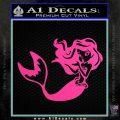 Ariel Decal Sticker Cute Mermaid Hot Pink Vinyl Vinyl 120x120