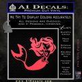 Ariel Decal Sticker Cute Mermaid Pink Vinyl Emblem 120x120