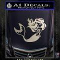 Ariel Decal Sticker Cute Mermaid Silver Vinyl 120x120