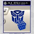 Autobot The FInger Decal Sticker Transformers Blue Vinyl 120x120