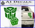 Autobot The FInger Decal Sticker Transformers Green Vinyl 120x97