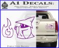 Black Mage Decal Sticker Final Fantasy Fire Purple Vinyl 120x97