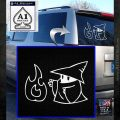 Black Mage Decal Sticker Final Fantasy Fire White Emblem 120x120