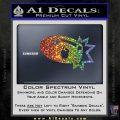 Bullet Bill Blast Decal Sticker Sparkle Glitter Vinyl 120x120