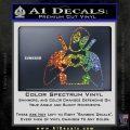 Dead Fool Heart Decal Sticker Sparkle Glitter Vinyl 120x120