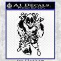 Dead Fool TNT Decal Sticker Black Logo Emblem 120x120