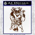 Dead Fool TNT Decal Sticker Brown Vinyl 120x120