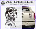 Dead Fool TNT Decal Sticker Carbon Fiber Black 120x97