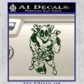 Dead Fool TNT Decal Sticker Dark Green Vinyl 120x120