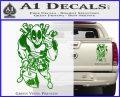 Dead Fool TNT Decal Sticker Green Vinyl 120x97