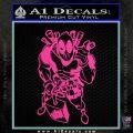 Dead Fool TNT Decal Sticker Hot Pink Vinyl 120x120