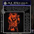 Dead Fool TNT Decal Sticker Orange Vinyl Emblem 120x120