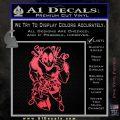 Dead Fool TNT Decal Sticker Pink Vinyl Emblem 120x120