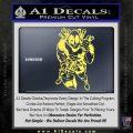 Dead Fool TNT Decal Sticker Yelllow Vinyl 120x120