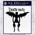 Death Note Ryuk Decal Sticker Black Logo Emblem 120x120