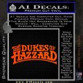 Dukes of Hazzard T1 Decal Sticker Orange Vinyl Emblem 120x120